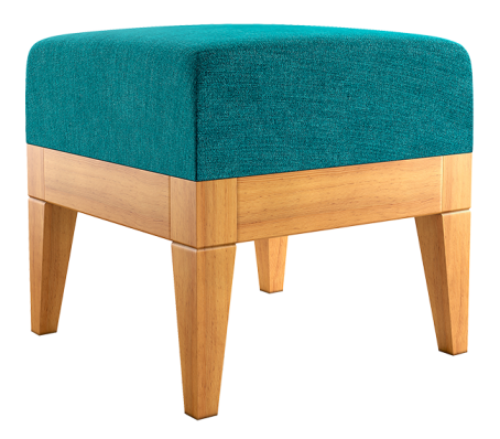 Woningpresentatie met kartonnen meubelen